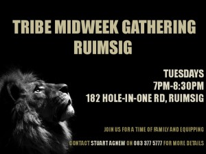 Mid Week Meeting – Ruimsig @ The Tribe - Ruimsig | Roodepoort | Gauteng | South Africa