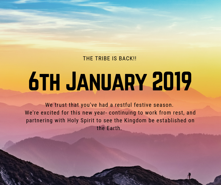 First Meeting of 2019 @ The Tribe Church- Ruimsig & Parys