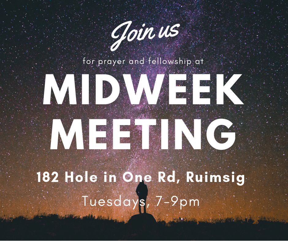Midweek Meeting- Ruimsig @ VIP Village